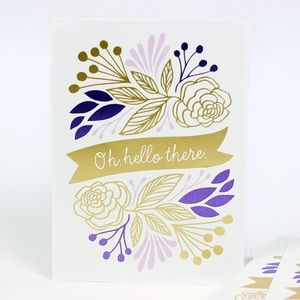 Other - Oh! Hello there greeting card
